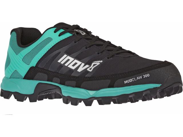 inov-8 Mudclaw 300 Løbesko Damer sort/turkis (2019) | Running shoes